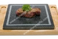 Grill steak stone hot plate/stone