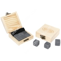 ice cube wooden gift set