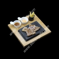 cheap hot stone grill set